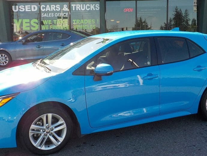 Used Cars for Students - Toyota Corolla Hatchback